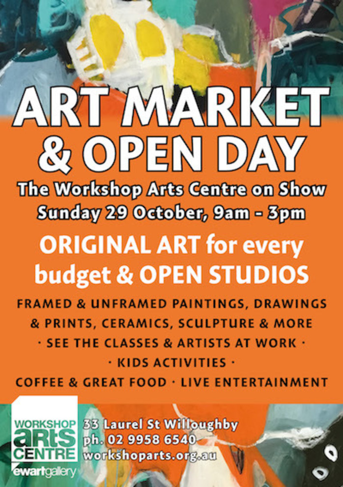 Art Market Open Day - Free Entry