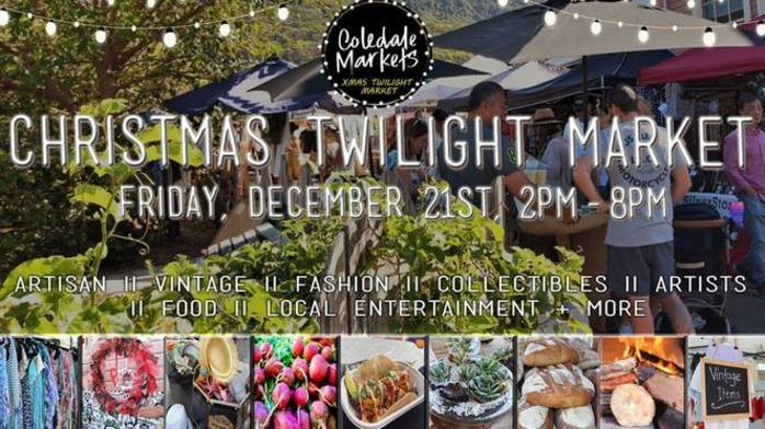 Coledale Markets - Christmas Twilight Market