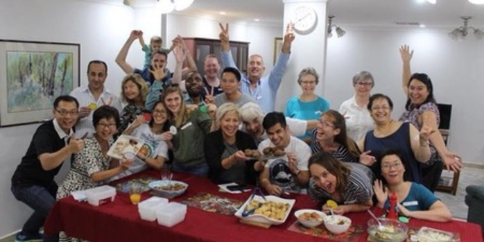 Community Welcome Dinner Refugee Week 2018