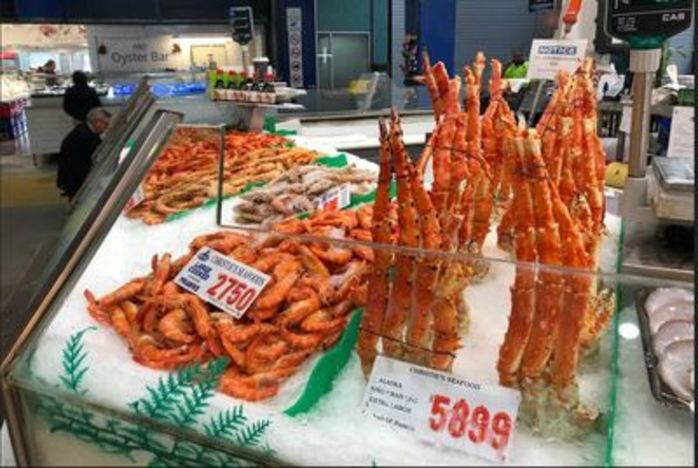 Fish and Tips at Sydney Fish Market