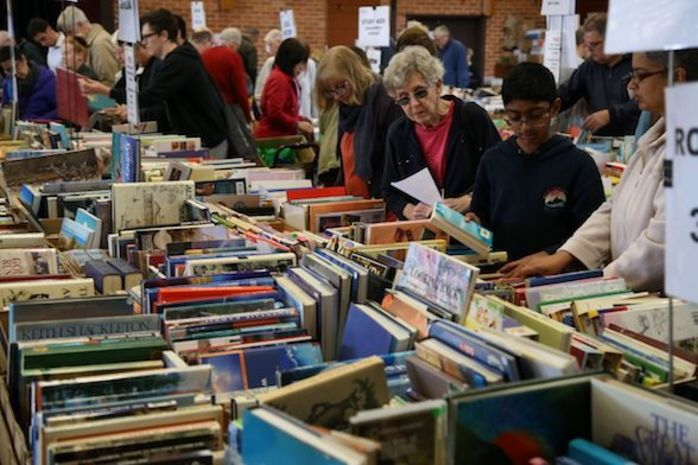 Lifeline's First Giant Book Fair at Macquarie University