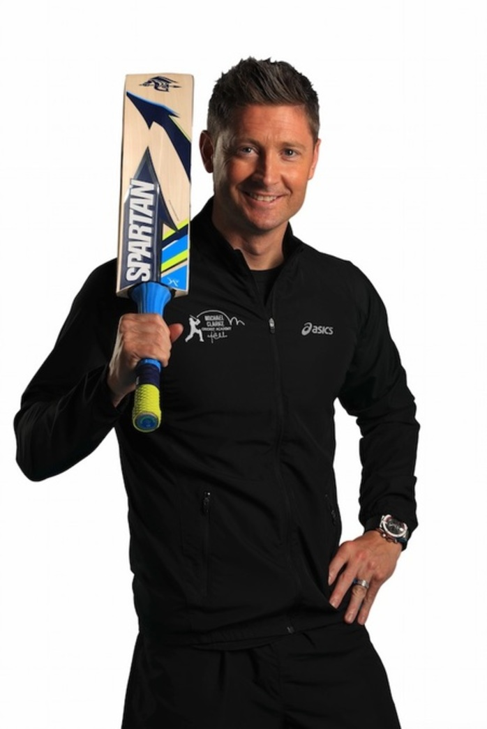 Michael Clarke Cricket Clinic