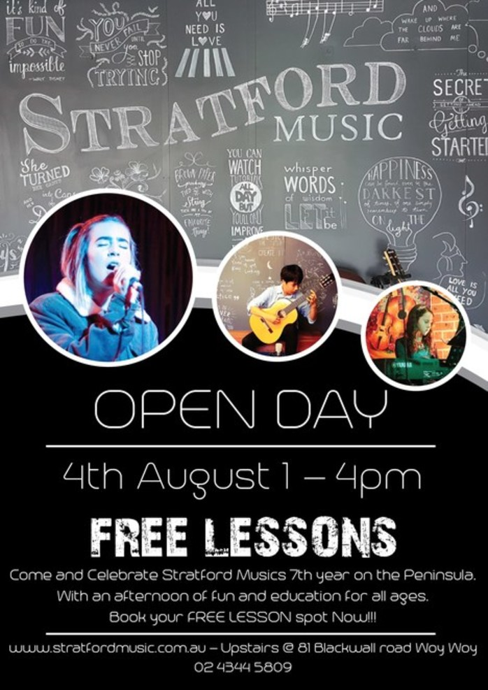 Open Day at Stratford Music