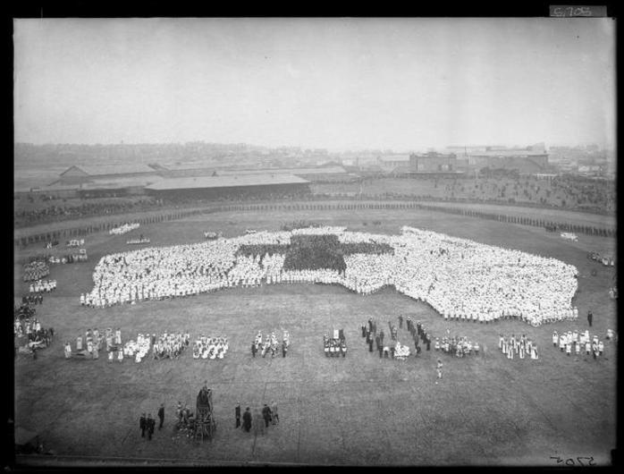 Peace Project Launch - Historic Photo on Bondi Beach