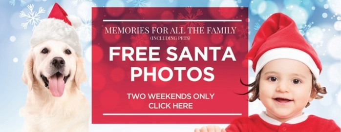 Santa Photos For Families (Including Pets!)
