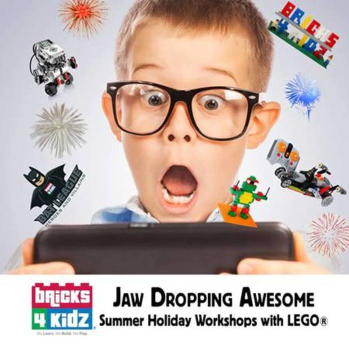 School Holiday Workshops with Bricks 4 Kidz - Northern Beaches