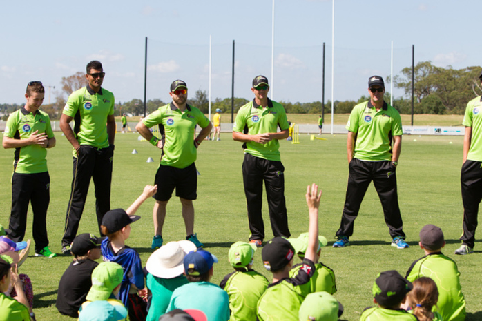 Summer Series Sydney Thunder Fan Day