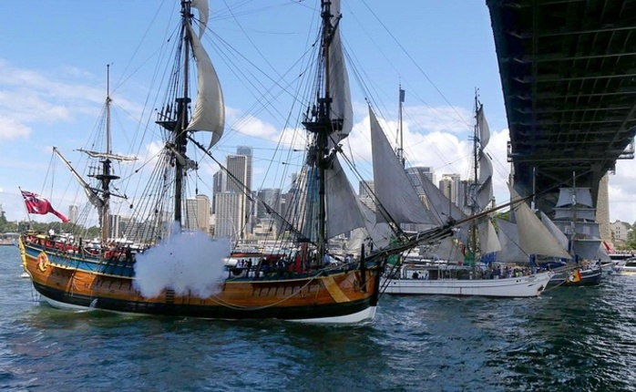Tall Ships Race 2019 Harbour