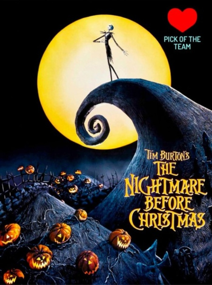 The Nightmare Before Christmas Mov'In Bed